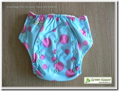 GreenNappy PinkPolka