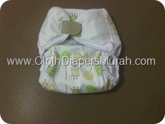 Cluebebe Coveria Large Giraffe White