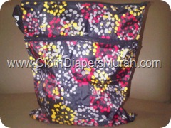 Enphilia Wet Bag Hitam