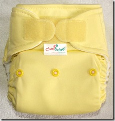 Cluebebe Soft Yellow