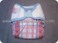Bee Diapers Pink Line